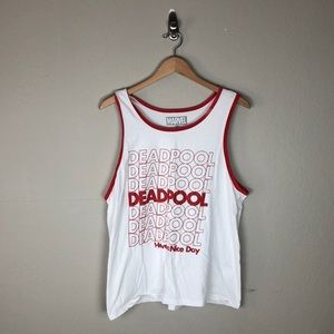 Deadpool Have A Nice Day Tank Top
